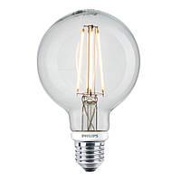 Лампа Эдисона G95 LED диммируемая Philips филамент