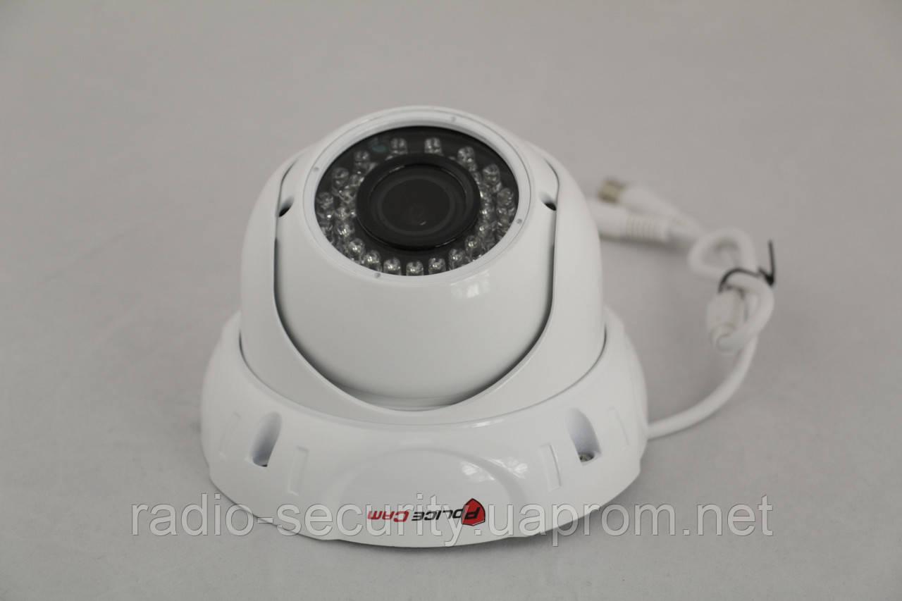 AHD уличная видеокамера PoliceCam PC-312AHD 1.3MP W