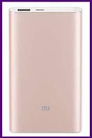 Xiaomi Mi Power Bank 10000mAh Pro Gold (PLM03ZM), фото 1