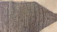 Пояс із собачої шерсті зігріваючий Сіро-коричневий