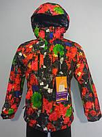 Куртка горнолыжная (лыжная) женская Snow headquarter c Omni-Heat