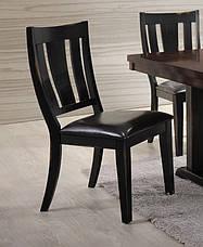 Стул обеденный деревянный Дрезден Sof, цвет черный матовый, фото 2