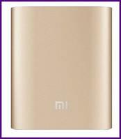 Xiaomi Mi Power Bank 10000 mAh (NDY-02-AN) Gold, фото 1