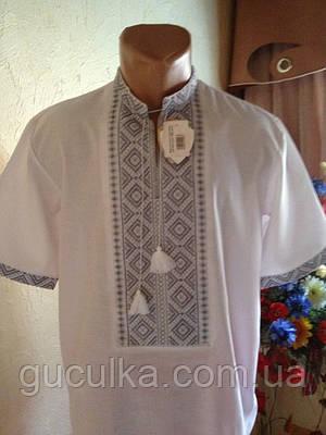Чоловіча вишиванка на короткий рукав ручної роботи  продажа 443bfb433b637