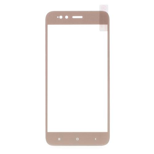 Защитное стекло Optima 2.5D 9H на весь экран для Xiaomi Mi 5x A1 золотистый