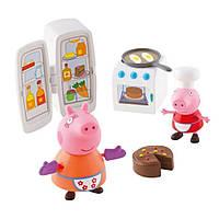 Игровой мини-набор Peppa КУХНЯ ПЕППЫ (кухонная техника, 2 фигурки) Peppa (06148)