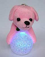 "Новогодний декор игрушка ночник ""Собака""."
