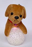 "Новогодний декор игрушка ночник ""Собака"""
