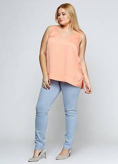 Женская джинсовая одежда XLL+