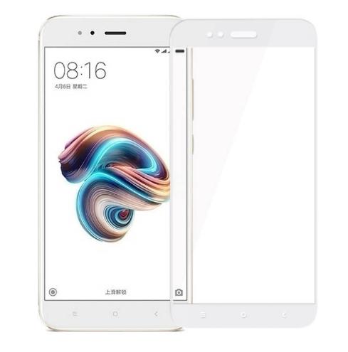 Защитное стекло Optima 2.5D 9H на весь экран для Xiaomi Mi 5x A1 белый