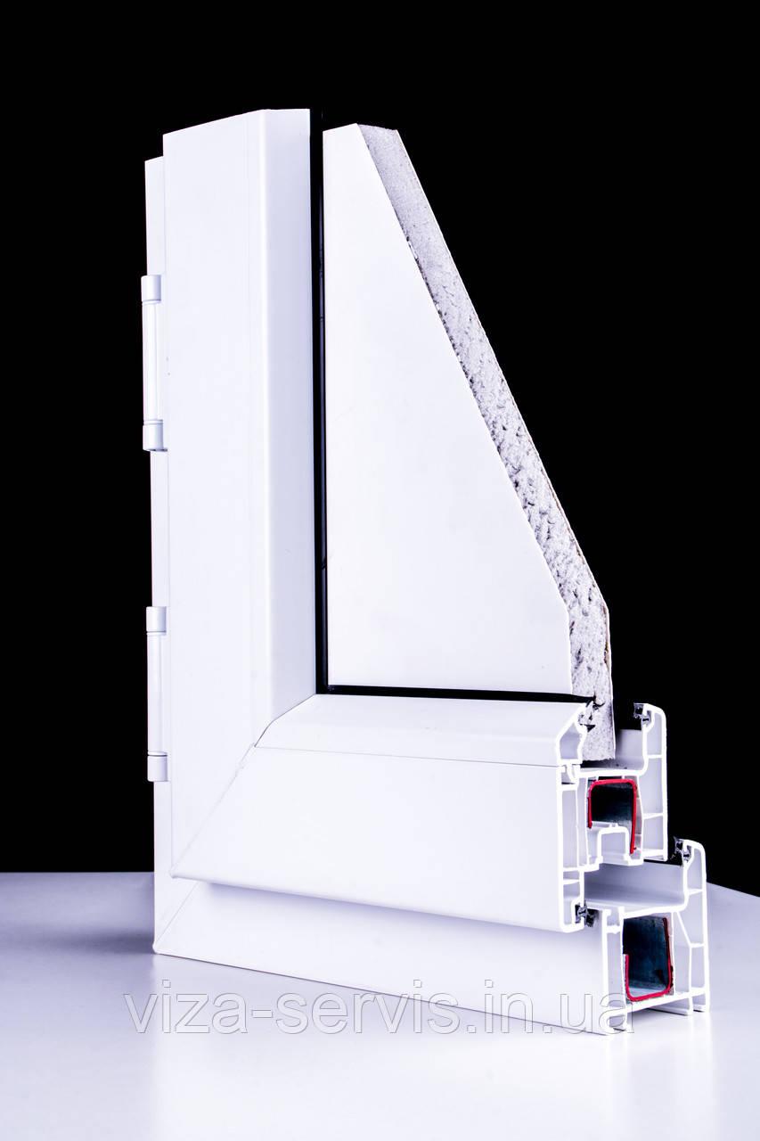 Окна профиль ТЕС (4 камеры)