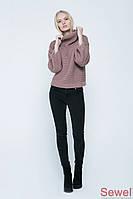 Женский молодежный свитер свободного силуэта oversize