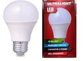 Светодиодная лампа Ultralight A60-10W-Y E27  3000К