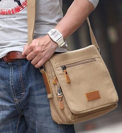 Картинка джинсовой мужской сумки