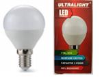 Светодиодная лампа Ultralight P45-7W-Y E14   3000К