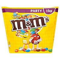 Драже M&M's с арахисом, 1 кг, Германия