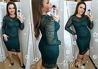 Платье женское гипюр большие размеры (цвета) СЕР1197