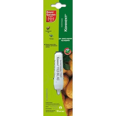 Инсектицид Коннект 10 мл !! Новая упаковка !! системный, против трипс, плодожорки, тли, колорадского жука