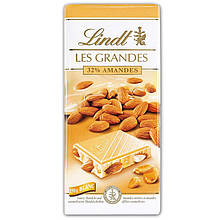 Шoколад Lindt Les Grandes Mandeln 32% 150 g