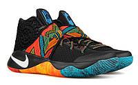 Кроссовки баскетбольные мужские Nike Kyrie 2 Black Indian (кроссовки баскетбольные), черные