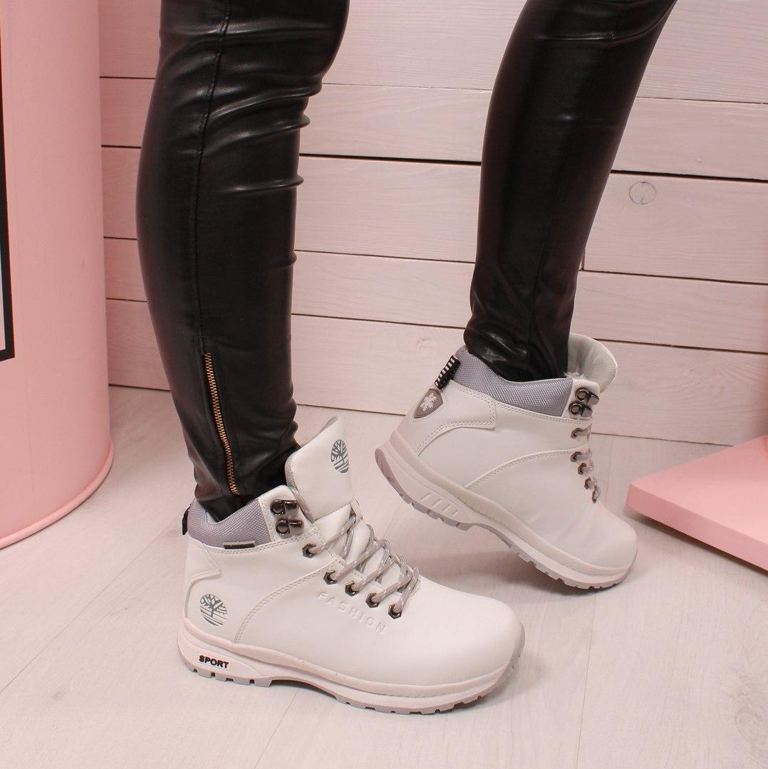 32ce162d Зимние спортивные ботинки. Белые - Интернет магазин Обувной Пассаж в Киеве