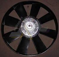 Крыльчатка вентилятора Евро-2 (с вязкостной муфтой) в сборе 660 мм