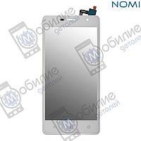Тачскрин (сенсорный экран) Nomi i5010 EVO M White