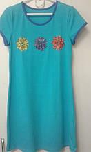 Нічна сорочка дівч ВОЛ НС-003, 140 бірюзовий