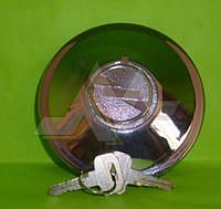 Крышка топливного бака хромированная с ключом с защитой усиленная