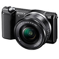 Цифровой фотоаппарат SONY Alpha 5000 kit 16-50 Black (ILCE5000LB.CEC)