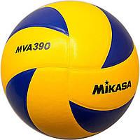 Мяч волейбольный Mikasa MVA 390 (оригинал)