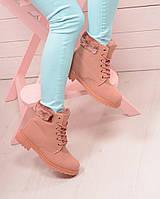 Зимние женские ботинки Timberland. Аналог , фото 1