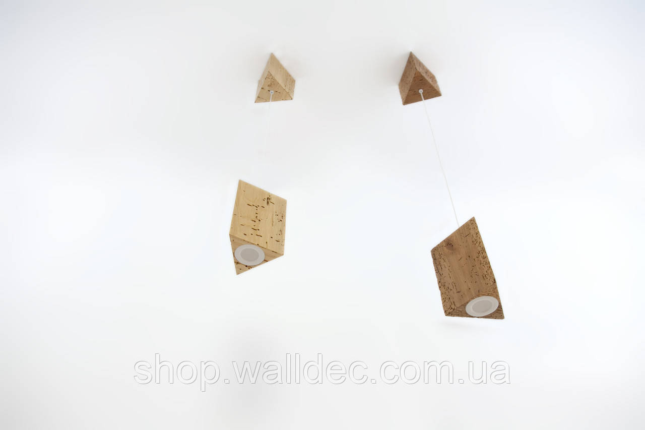 Светильник деревянный подвесной Trion 6