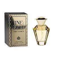 Парфумована вода для жінок REAL TIME, Fine Gold For Women, 100мл