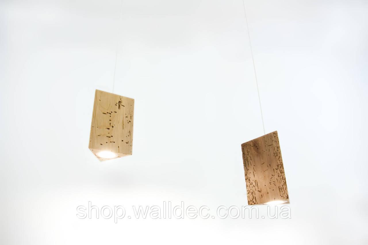 Светильник деревянный подвесной Trion 3