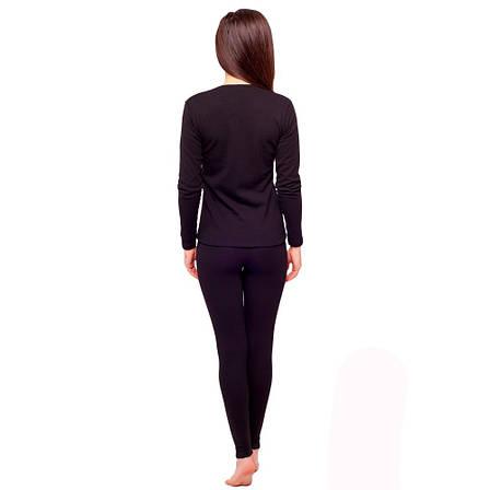 Комплект женского термобелья серого цвета 93-2608 (5), фото 2