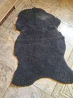 Коврик покривало хутряний з натуральної овечої шкіри 112*82см