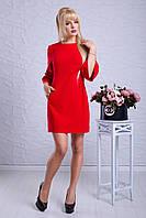 """Женское модное стильное короткое  платье в интернет магазине """"Скарлет"""""""