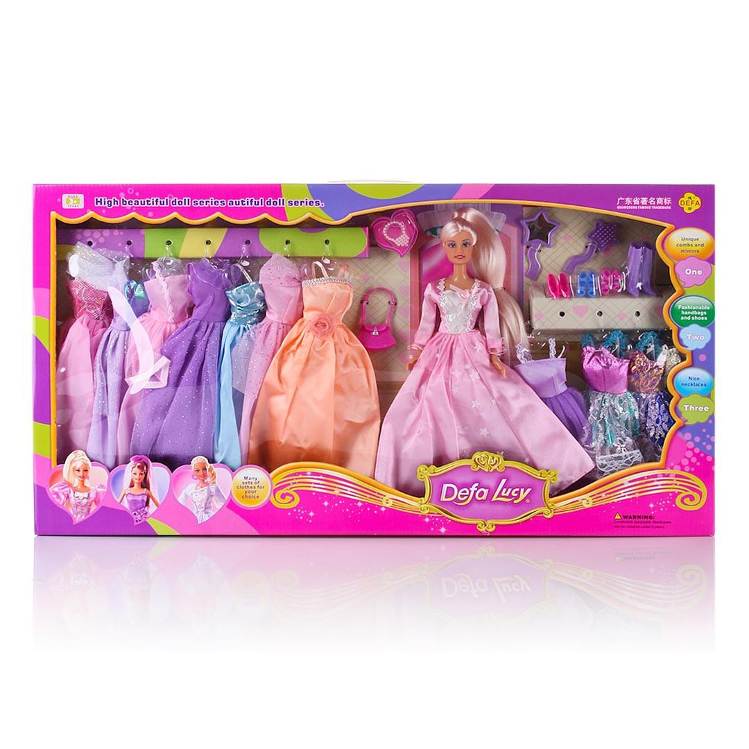 Кукла Барби DEFA 8027 с одеждой