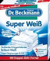 Мощное отбеливающее средство для восстановления белого цвета белья Dr. Beckmann Super Weiß