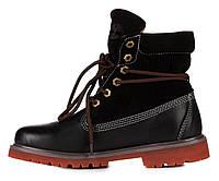 Женские ботинки Timberland Bandits Черные, фото 1