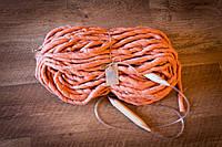 Толстая мериносовая пряжа Maxi 660 грамм, цвет Румяна