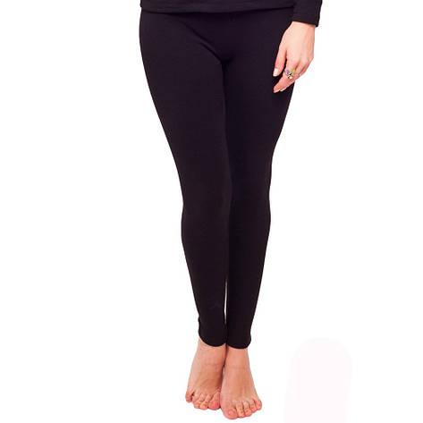 Жіночі чорні кальсони Термобілизна 93-2505 (4), фото 2