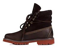 Женские ботинки Timberland Bandits Коричневые, фото 1