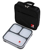 Ланч-бокс + сумка-холодильник Bergner BG-5756-BK