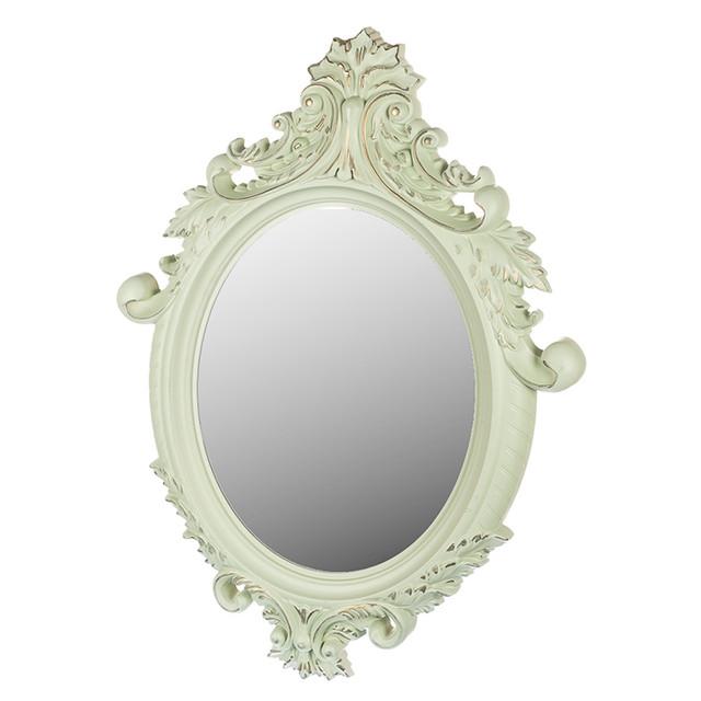 Фигурное зеркало настенное (фото)