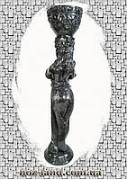 "Скульптура ""Ева"" 103 см (черный мрамор)"