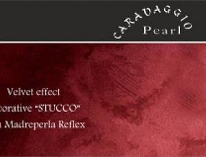 Caravaggio Pearl декоративная штукатурка с бархатным эффектом