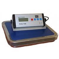 Весы товарные портативные FCS-150 до 150 кг; 300х310 мм
