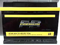 Акумулятор автомобільний 60 FB Premium